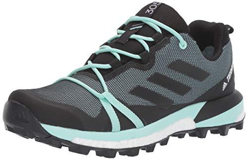 adidas outdoor Women's Terrex Skychaser LT GTX Athletic Shoe, ASH Grey/Black/Clear Mint, 8.5 M US