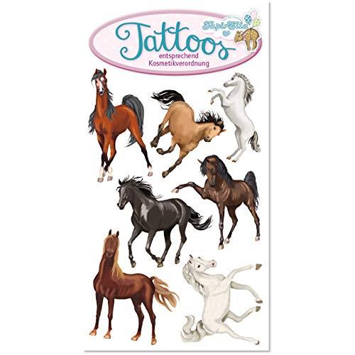 Lutz Mauder Tattoos * TAPIRELLA Pferde 44670 // Kinder Kindertattoo Kindergeburtstag Geburtstag Mitgebsel