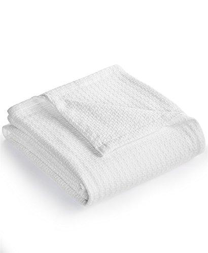 Lauren Ralph Lauren Estate Full / Queen Size Classic Cotton Blanket White
