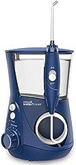 Waterpik WP-663EU Aquarius - Irrigador dental, 100-240V, depósito de agua de 650 ml, Azul