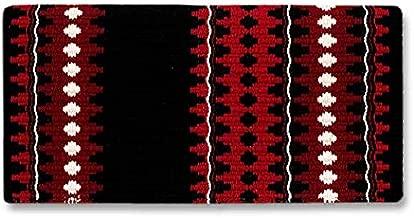 بطانية Mayatex Catalina Saddle، أسود/أحمر/أحمر تيبتي/حمراء