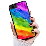 for iPhone 6, iPhone 6S, Art Design Soft Back Case Phone Cover, HOT12517 Rainbow Pattern Gay Pride 12517