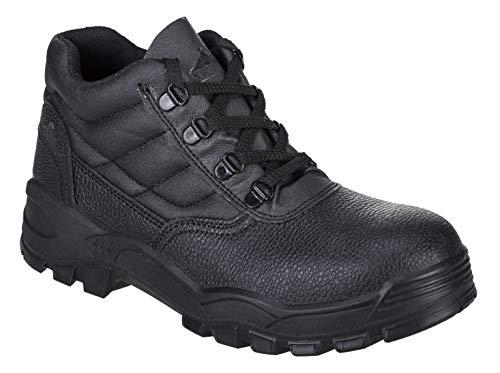 Portwest FW10 Steelite Black Leather Work Boot