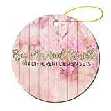 by Unbranded 2021 Christmas Ornament Girl Bundle of 14, Girl, Beach Vacation, Vacay Squad, Bachelorette Party Novelty Christmas Ornament Sign Wreaths for Home Decor Party Decor