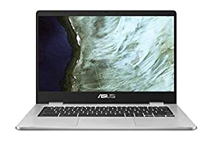 immagine di ASUS Chromebook C423NA-EB0239, Laptop van 14 Full-HD (Intel Celeron N3350, 8 GB RAM, 64 GB eMMC, UMA, Chrome OS) – QWERTY Nederlands Toetsenbord
