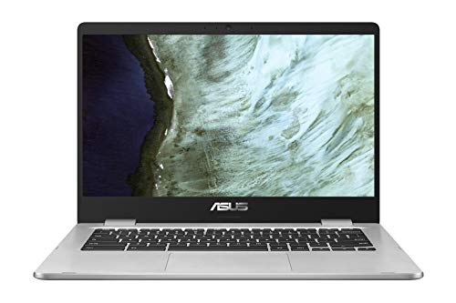ASUS Chromebook C423NA-EC0428 Laptop 35.5 cm (14 Zoll, Full HD, 1920x1080, IPS-Level, Touch) Notebook (Intel Celeron N3350, 8GB RAM, 64GB eMMC, Intel HD-Graphics 500, Chrome OS) Silver