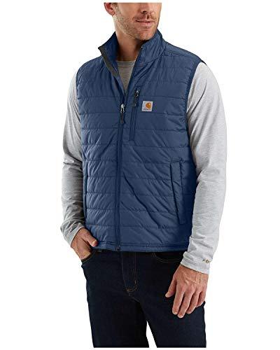 Carhartt Gilliam Vest Gilet, Dark Blue, L Homme