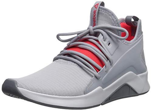 Reebok GURESU 2.0 - Zapatillas deportivas para mujer, Gris (Gris frío, blanco, rojo neón.), 42 EU