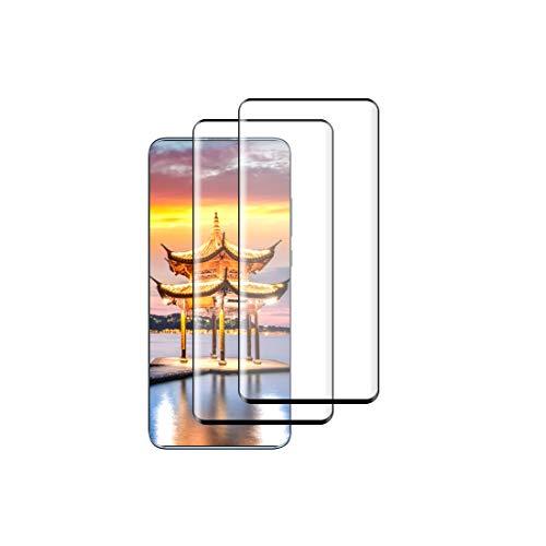 Zsmzzd Protector de Pantalla para Xiaomi Mi 9T / Mi 9T Pro,2 Piezas Cristal Templado,3D Cobertura Completa,9H Dureza,HD Transparente, Anti-Burbujas,Anti-aArañazos, Alta Sensibilidad Vidrio Templado