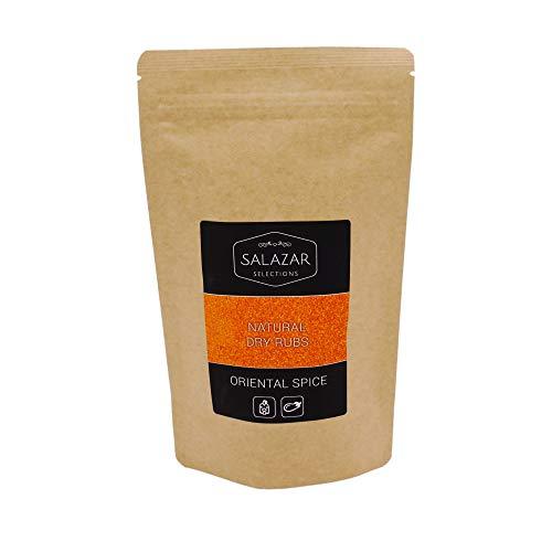 Salazar Oriental Spice | 200g | BBQ Rub Grillgewürz | Marinade für Geflügel, Pute, Hähnchen & Gemüse | Hähnchengewürz | Natural Dry Rub