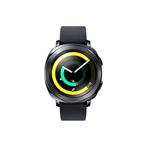 Samsung Gear Sport Smartwatch, GPS, Impermeabile 5ATM, Lettore MP3 Integrato, Nero, [Versione Italiana]
