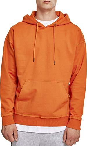 Urban Classics Herren Kapuzenpullover Oversized Sweat Hoodie,Orange (rust orange), M