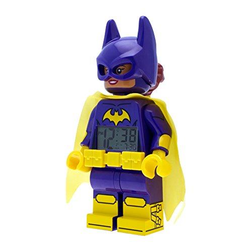 Lego Batman Movie Batgirl Wecker 9009334 Digital Alarm LED Kinder Uhr ULE9009334 Wecker