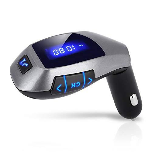 MHCYKJ USB Lettore MP3 Trasmettitore Bluetooth Ricevitore FM Transmitter Car Kit Bluetooth Radio Wireless Adapter modulatore FM