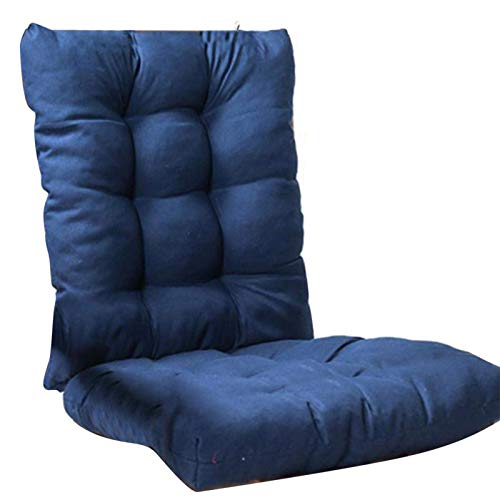RuiXia Cojín para Tumbona con Respaldo Cojín para Tumbona Cojín de Repuesto para Silla Mecedora Cojín para sofá con Respaldo para el jardín del hogar Relajante reclinable