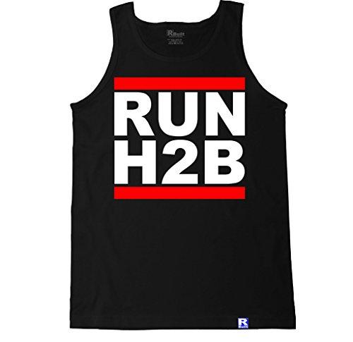 FTD Apparel Men's Run H2B Motor Tank Top - XXL Black