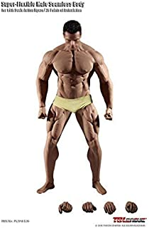Phicen 1/6th Scale Super Flexible Male Seamless Muscle Body PL2018-M35