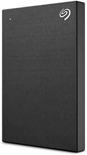 Seagate Backup Plus Slim ポータブルHDD 【PS5/PS4】動作確認済み TV録画対応 2TB 黒 バックアップソフト付 3年保証 STHN2000400