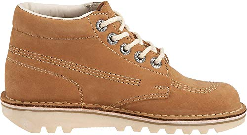 Kickers Kick Hi Core, Botas para Mujer, Marrón (Tan/Natural), 38 EU