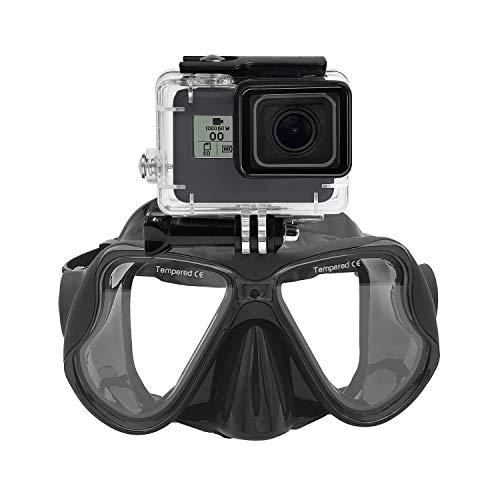Máscara buceo submarina Gafas snorkel compatible