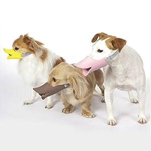photoviepet Muselière pour chien Petit Coque Quack Canard Bill Design Pet Bouche Garde protection