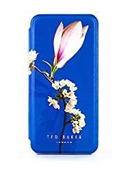 Official Ted Baker Mirror Folio for the Apple iPhone SE and iPhone 5s. This Case is NOT compatible with larger iPhone 8, 8 Plus, 7 or 6 models. Flip to Snapback technology for comfort calling. Magnetic attraction to attaches to metal surfaces. Secret...