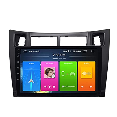 Android 10.0 Car Radio For Toyota Yaris 2008-2011 Car Stereo GPS Navigation...