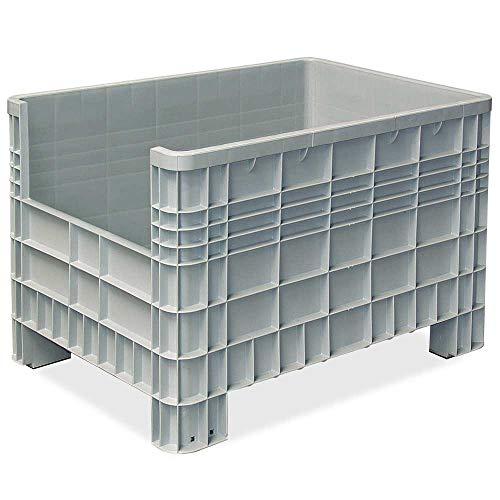 Palettenbox mit Aussenrippen und 4...
