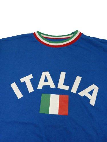T-shirt Italie Italie avec col XXL