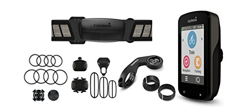 Garmin Edge 820 Performer Bundle, GPS Cycling/Bike Computer for Performance and Racing, Includes Additional Sensors/Heart Rate Monitor