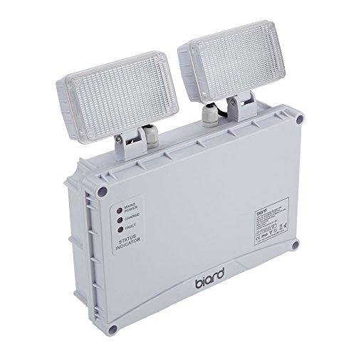 Biard Double Lampe de Secours 6,5W - Éclairage Sécurité Industriel IP65