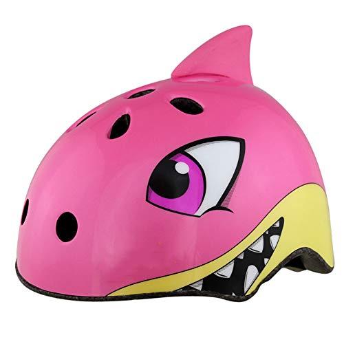 HYE Casco de Ciclo Animal Lindo Cascos de tiburón de Bicicleta para...
