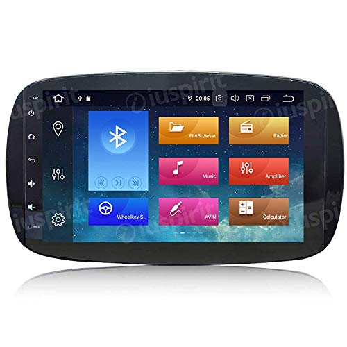 ANDROID 10 GPS USB WI-FI Bluetooth autoradio navigatore Smart Fortwo W453, Smart ForFour 2014, 2015, 2016, 2017, 2018, 2019 4 GB RAM, 64GB ROM
