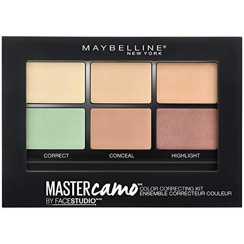Maybelline New York Color Master Camo Palette Correttori Occhiaie e Imperfezioni, Idratazione fino a 12 h, Light