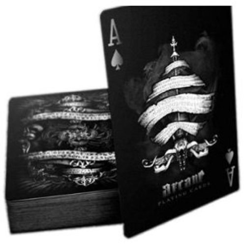 Bicycle Arcane Deck, Playing Cards by Ellusionist, Black