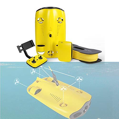 Stoge Drone Submarino, 4K Ultra HD Y Luz De Relleno Pueden Sumergirse 100 Metros De Experiencia De Realidad Virtual, Compartir En Redes Sociales, Fotos De Buceo, Mundo De Pesca Submarina
