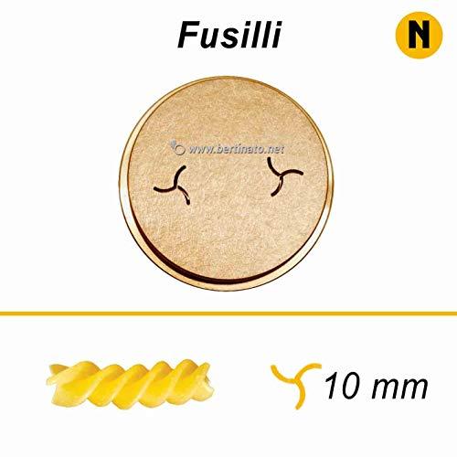 Fusilli Nudelmaschine für professionelle Frischpaste von La Fattorina 1,5 kg kompatibel mit FIMAR MPF 1,5