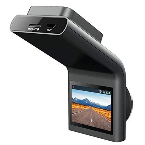 GYAM Dash CAM Automóviles, FHD 1080P HD Oculto Visión Nocturna Prueba Velocidad Inalámbrica Grabadora Conducción Monitor Estacionamiento, Visión Nocturna, Detección Movimiento