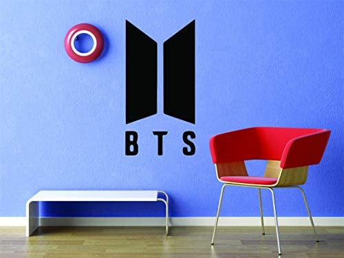 BTS Korean Pop Singers Kpop Boy Band Dance Wall Decals for Girls and Boys Bedroom Singer Dancer product image