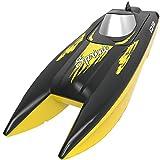 SYMA RC Boot 2.4GHz Fernbedienung Schnell Boot Spielzeug High Speed Racing Boot mit Starker Kraft Geschenk fr Anfnger und Kinder