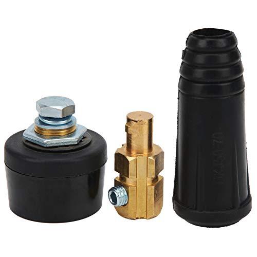 Enchufe de conector, enchufe y enchufe de conector rápido Cable de soldadura eléctrica Accesorios de conexión 50-70(A)