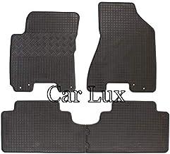 Car Lux AR04983 Alfombras coche Alfombrillas de goma a medida tipo cubeta 3D para 500x desde 2014