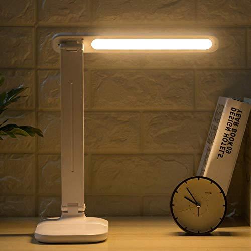 fghrgh Veilleuse LED,Lampe Lampe De Bureau Protection des Yeux Chambre Lampe De Chevet Plug-in Dortoir Bureau Lecture Et Écriture Lampe De Bureau LED Apprentissage De La Lecture A664