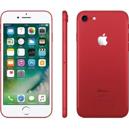 Apple iPhone 7 Plus Fully Unlocked (128GB, Red) (Renewed)