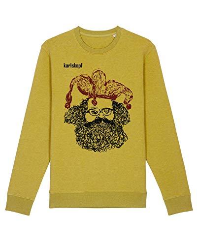 Herren Sweater Pullover Casper, Farbe: Gold, Größe: Xx-Large
