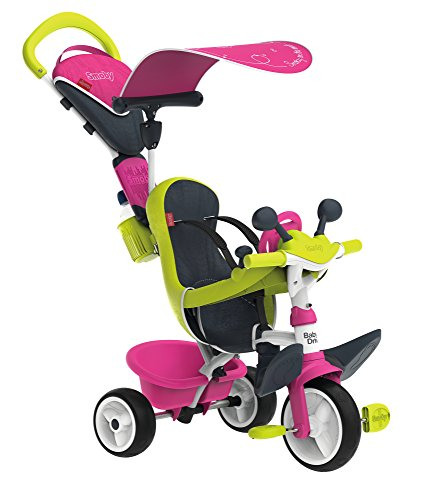 Smoby 741201 - Baby Driver Komfort, rosa