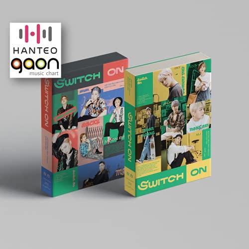 Astro - SWITCH ON [On + OFF Full Set Ver.] (8th Mini Album) 2Album+BolsVos K-POP Webzine (9p), Decorative Stickers, Photocards