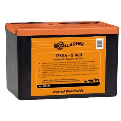 Powerpack Alkaline Batterie 9V/175Ah