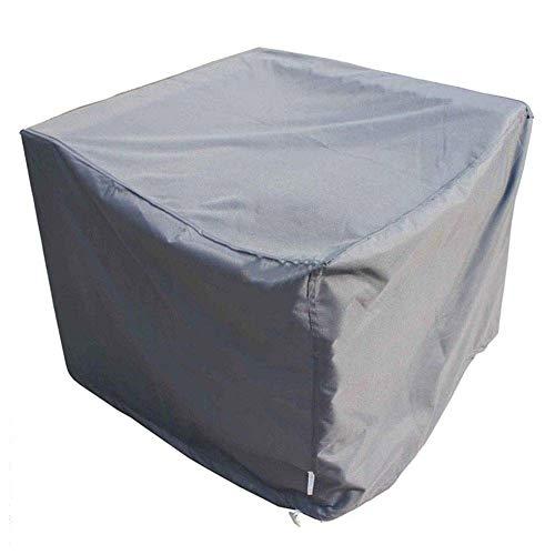 NINGWXQ Garden Tafelafdekking 210D Rectangle beschermhoes for gebruik buitenshuis eettafel en stoelen, meerdere maten, 2 kleuren (Color : Gray, Size : 250x200x80cm)