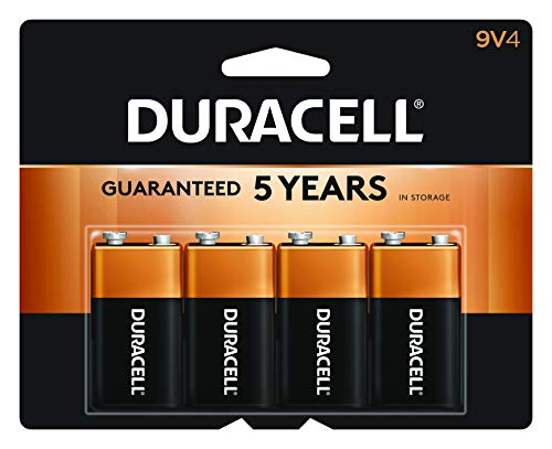 Duracell - CopperTop 9V Alkaline Batteries -...